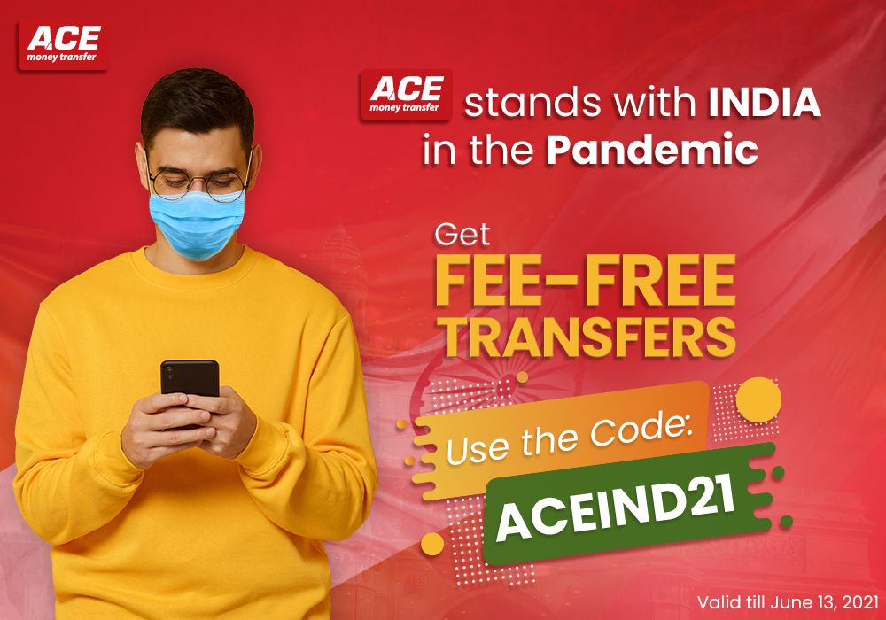 ACE Money Transfer stands with India in the Pandemic