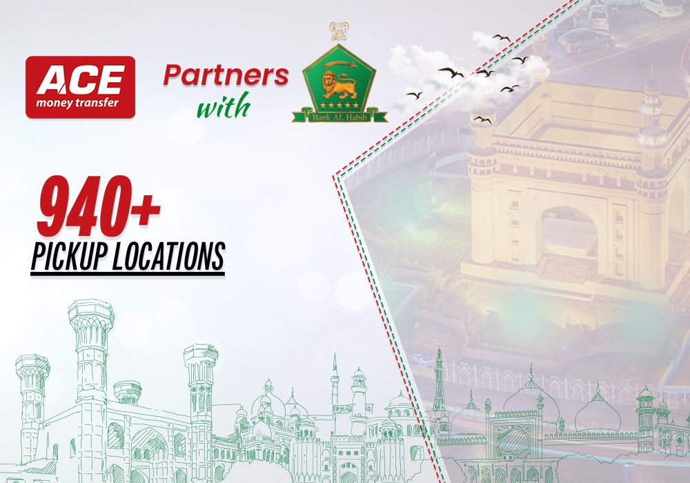 ACE Partners with Bank Al Habib for Cash Pickup | 940+ Locations Across Pakistan