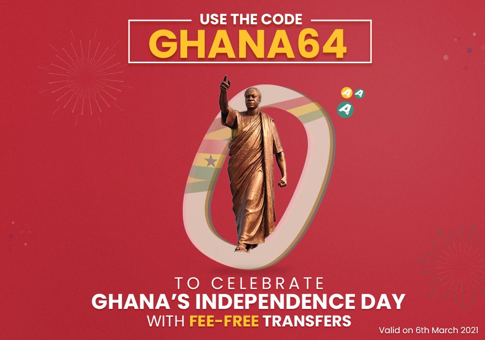 Ghana Independence Day Offer!