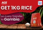 Get 1Kg Rice for Sending Money to Gambia!